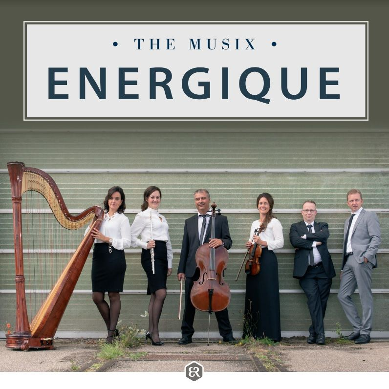 Nieuwe cd The Musix 'Energique'